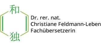Dr. rer. nat. Christiane Feldmann-Leben Fachübersetzerin
