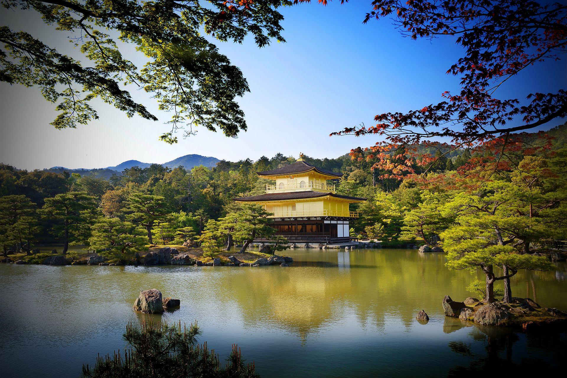 Kinkakuji-Tempel in Kyoto