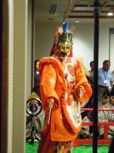 Japanische Tanzvorführung als Beiprogramm zur Internationalen Konferenz zur polyolvermittelten Syntehse